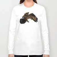 raven Long Sleeve T-shirts featuring Raven by Alohalani
