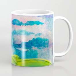 Dancer in sky with clouds and rithm Coffee Mug