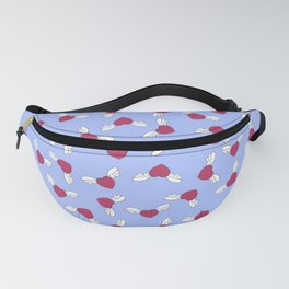 Love is in the air - Blue Fanny Pack