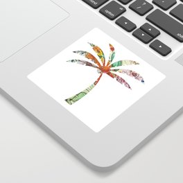 Palm Tree Fabric Sticker