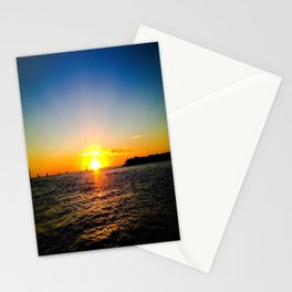 Toast to the Sunset Stationery Cards