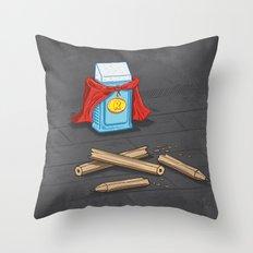 Super Rubber Throw Pillow