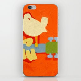 1969- a tribute to  Arnold Skolnick iPhone Skin