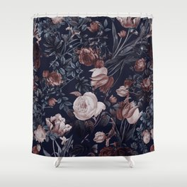 Night Forest XXV Shower Curtain