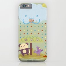 color raindrops keep falling on my head Slim Case iPhone 6s