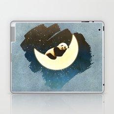 Sleeping Panda on the Moon Laptop & iPad Skin