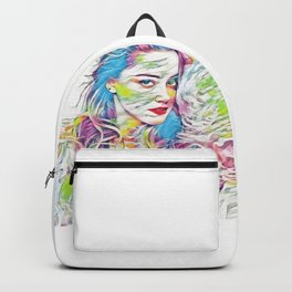 Amber Heard (Creative Illustration Art) Backpack