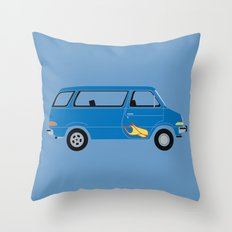 Wayne's Van Throw Pillow