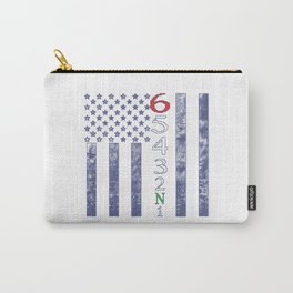1 Down 5 up Flag Carry-All Pouch