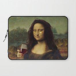 Drunk Lisa Laptop Sleeve