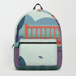 Beauty Garden Girl Backpack