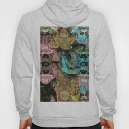 Surreal Floral Intricate Visionary Print Hoody