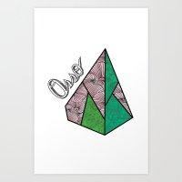 Piramid Art Print