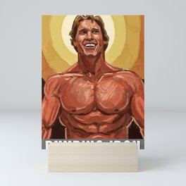 Pumping Iron Mini Art Print