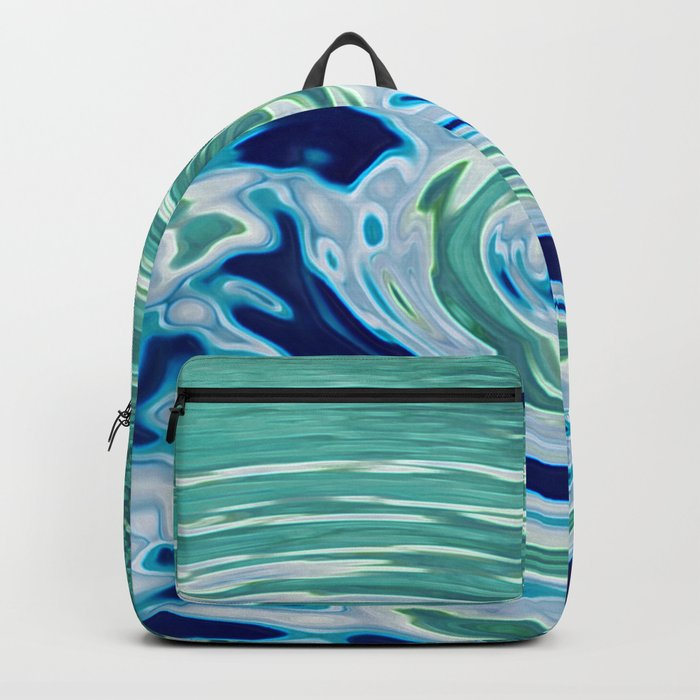 OCEAN ABSTRACT 2 Backpack