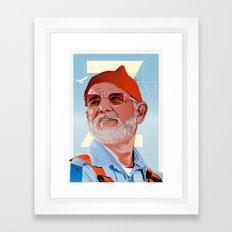 Doc Zissou 2 Framed Art Print