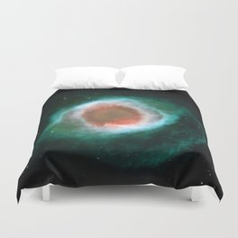 Eye Galaxy Duvet Cover