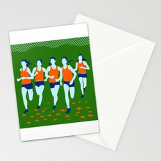 Stars of Track and Field are Beautiful People Stationery Cards