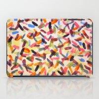 sprinkles iPad Cases featuring Sprinkles by Rachel Butler