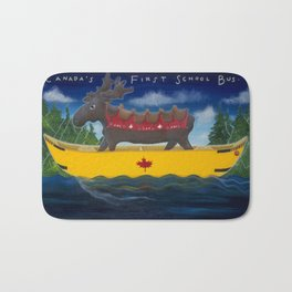 Canada's First School Bus Bath Mat