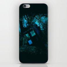 DEATH OF THE TARDIS iPhone & iPod Skin