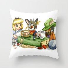 March Jackalope Throw Pillow