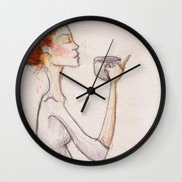Cup of tea Wall Clock