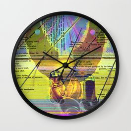 Royal Engagement Wall Clock