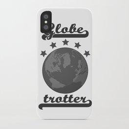 Globetrotter badge iPhone Case