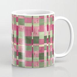 Weaver's Dream / Geometric Meets Floral Coffee Mug