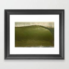 Verde Tubo Framed Art Print