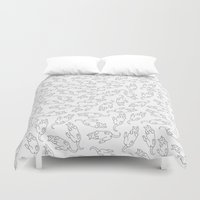 eat Duvet Covers featuring Eat! by anetambiel