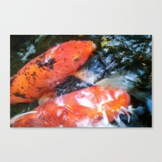 Koi Abstraction 001 Canvas Print