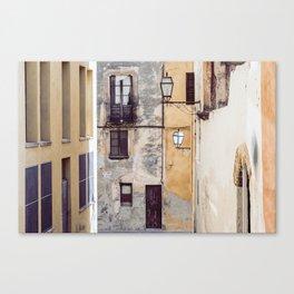 Urban Street Canvas Print