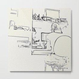 Workroom details Metal Print