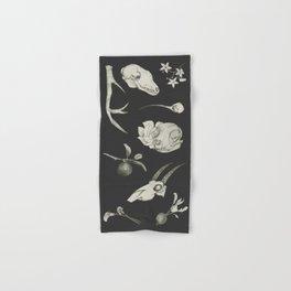 Bones and Botanical Sketches Hand & Bath Towel