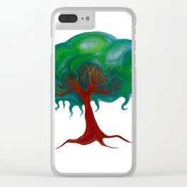 Mind Tree Clear iPhone Case