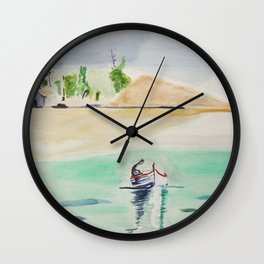 Lagon Wall Clock
