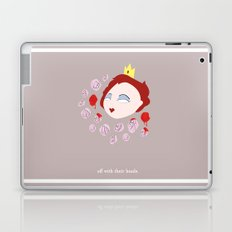 Off with their heads Laptop & iPad Skin