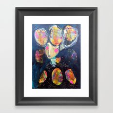 The Risk It Took To Blossom Framed Art Print