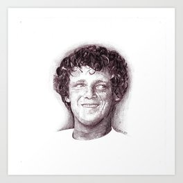 Terry Fox Art Print