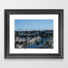 Boats Afloat Framed Art Print