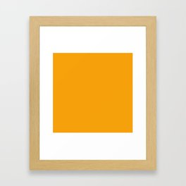 MANGO MOJITO -PANTONE NEW YORK FASHION WEEK 2018 SPRING 2019 SUMMER Framed Art Print