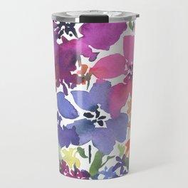Pretty Poppy Patch Travel Mug