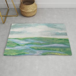 Lowcountry Marsh Landscape Rug