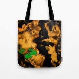 Interruption yellow Tote Bag