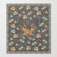Victorian Cat 2 Canvas Print