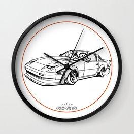 Crazy Car Art 0052 Wall Clock