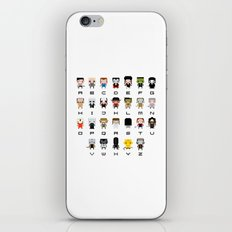 Horror Movies Alphabet iPhone & iPod Skin