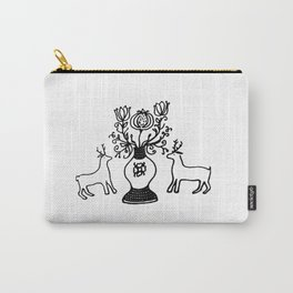 Deers and pomegranate Carry-All Pouch